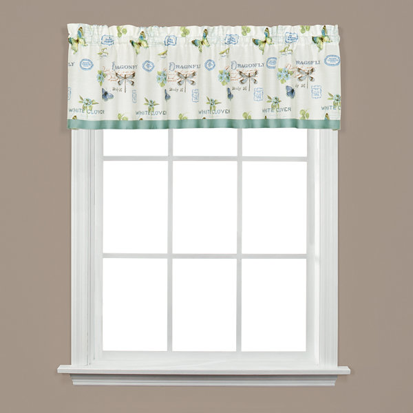 Saturday Knight Garden Discovery Rod-Pocket Tailored Valance