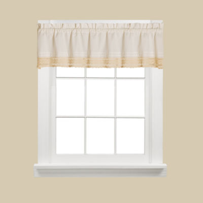 Saturday Knight Heritage Rod-Pocket Tailored Valance