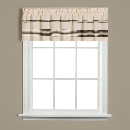 Saturday Knight Sundance Rod-Pocket Tailored Valance
