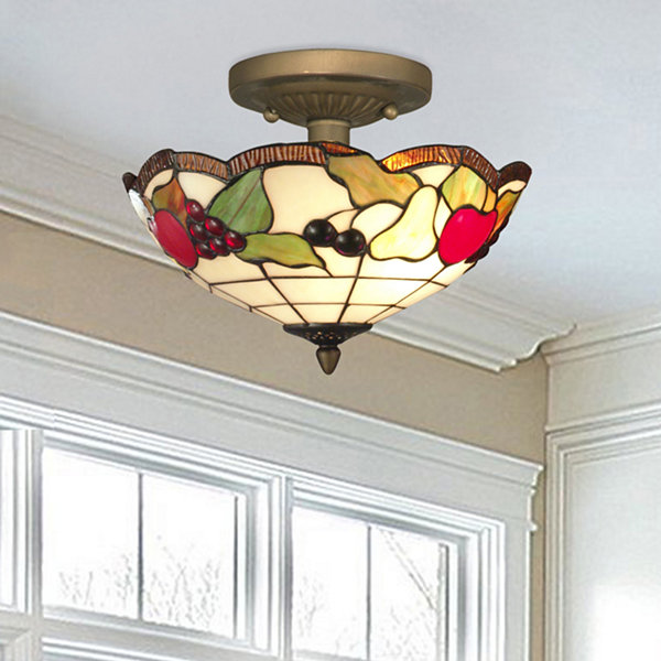 Dale Tiffany™ Fruits Semi Flush Mount