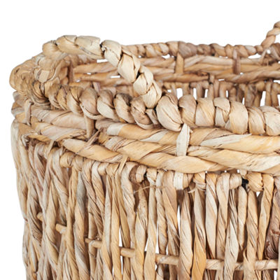 Household Essentials Corn Leaf Floor Basket