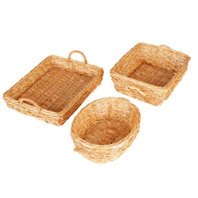 Household Essentials Willow Storage Tray