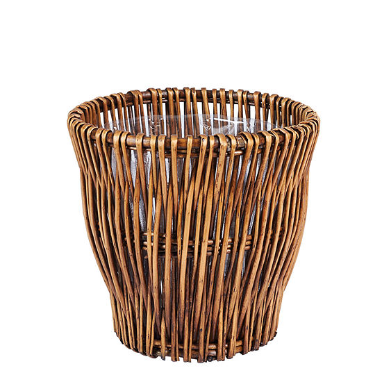 Household Essentials® Small Reed Willow Waste Basket