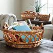 Household Essentials Robin Wicker 3-pc. Basket