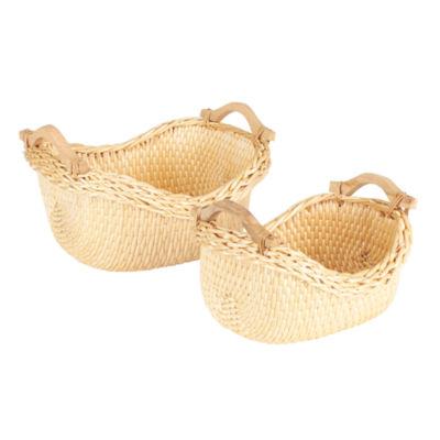 Household Essentials® Water Weave Basket - Set of 2