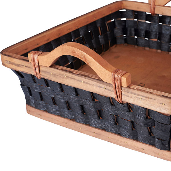 Household Essentials Wicker Storage Tray