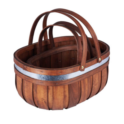 Household Essentials Market 2-pc. Basket