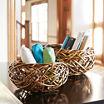 Household Essentials Birds Nest 2-pc. Basket