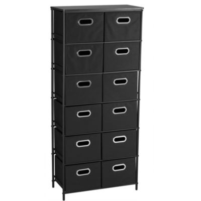 Household Essentials Black Storage Stand