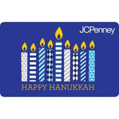 $250 Hanukkah Candles Gift Card