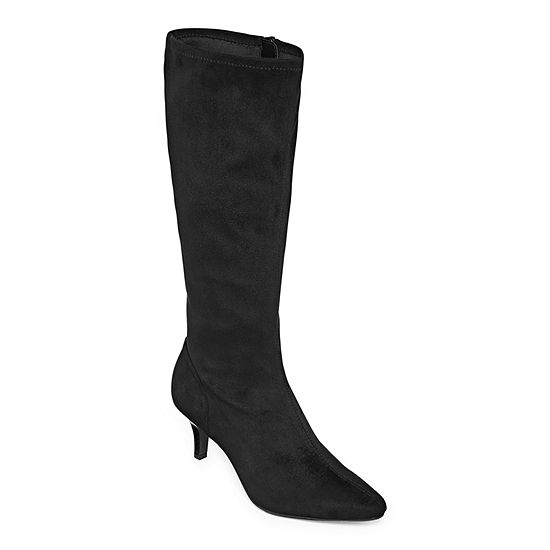 East 5th Womens Navassa Wide Calf Dress Boots