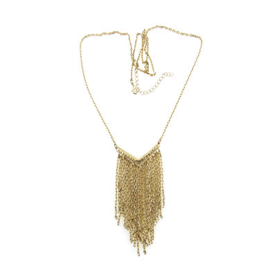Bold Elements Womens Brass Collar Necklace