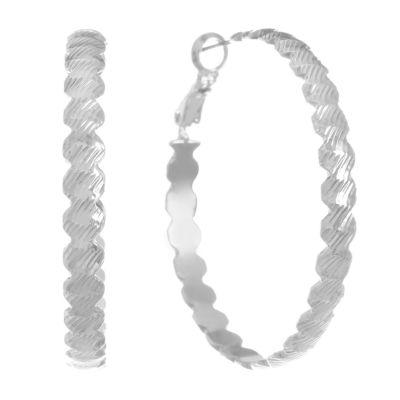 Monet Jewelry 43mm Hoop Earrings