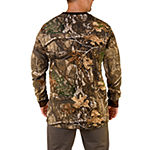 Realtree Mens Crew Neck Long Sleeve Thermal Top