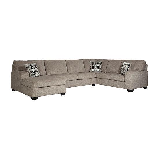 Tremendous Signature Design By Ashley Ryder 3 Pc Sectional With Right Arm Facing Sofa Spiritservingveterans Wood Chair Design Ideas Spiritservingveteransorg