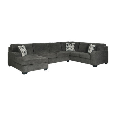 Signature Design by Ashley® Ryder 3-pc Sectional with Right Arm Facing Sofa