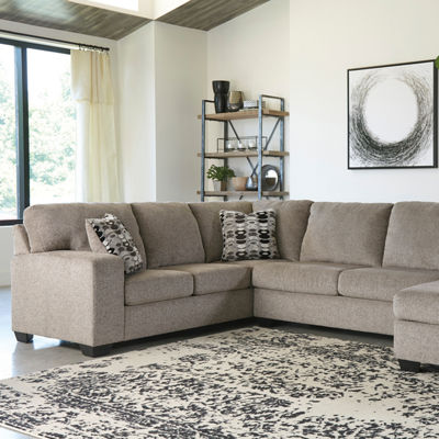 Signature Design by Ashley® Ryder 3-pc Sectional with Left Arm Facing Sofa