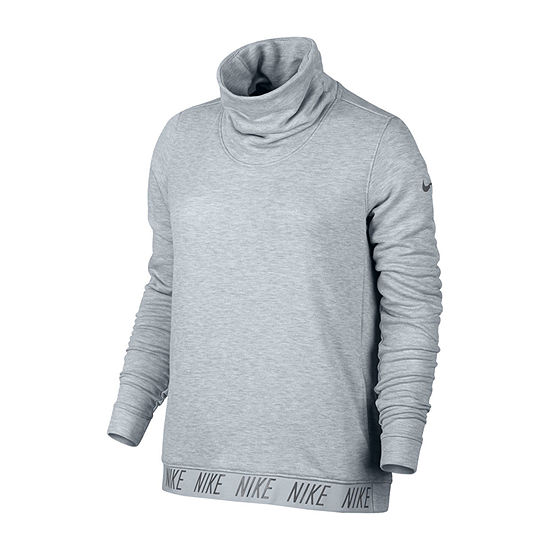 16984f013 Nike Womens Cowl Neck Long Sleeve Sweatshirt - JCPenney