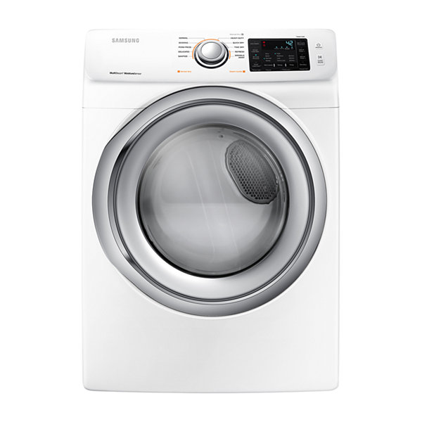 Samsung 7.5-cu ft Stackable Gas Dryer with Steam Cycle