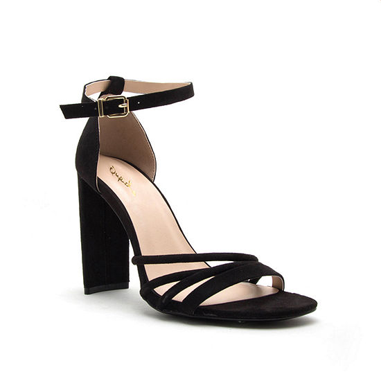 Qupid Elsi 20 Womens Heeled Sandals