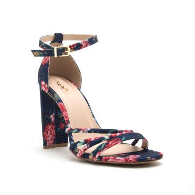 Qupid Womens Qupid Elsi-20 Heeled Sandals