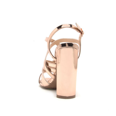 Qupid Womens Lyra-16 Heeled Sandals