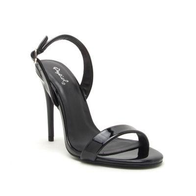 Qupid Womens Diti-30 Heeled Sandals