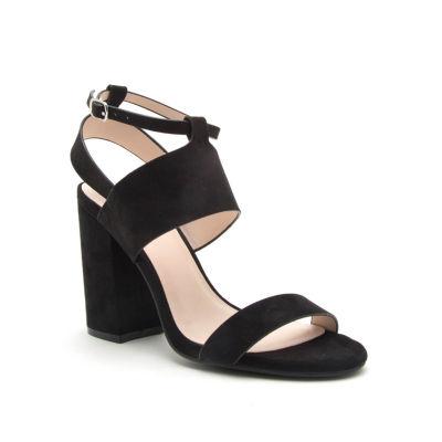Qupid Lake-06 Womens Heeled Sandals