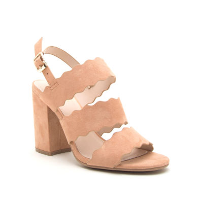 Qupid Lake-08 Womens Heeled Sandals