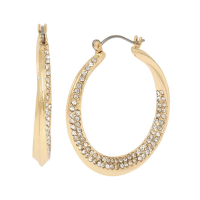 Worthington 1 1/2 Inch Hoop Earrings
