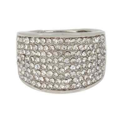 Worthington Womens Round Cocktail Ring