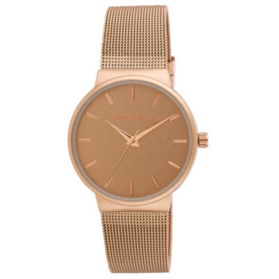 Laura Ashley Womens Strap Watch-La31043rg