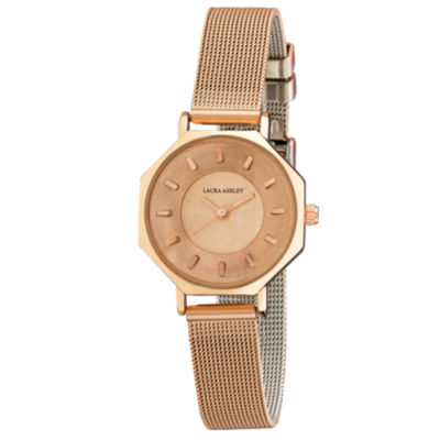 Laura Ashley Womens Strap Watch-La31053rg