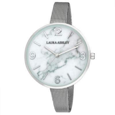 Laura Ashley Womens Strap Watch-La31062ss