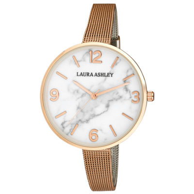 Laura Ashley Womens Strap Watch-La31062rg