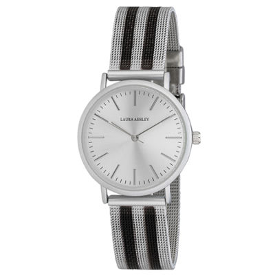 Laura Ashley Womens Strap Watch-La31061bs