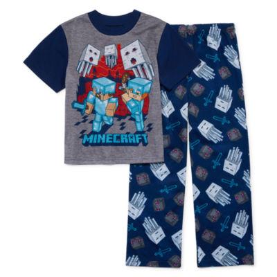 2-pc. Minecraft Pajama Set Boys