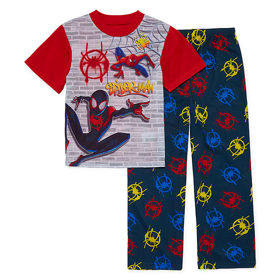Boys 2-pc. Spiderman Pant Pajama Set Big Kid