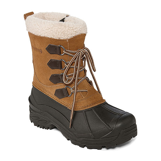 Weatherproof Mens Traverse 2 Water Resistant Insulated Winter Boots