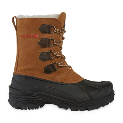 Weatherproof Mens Traverse Ii Water Resistant Insulated Winter Boots Lace-up
