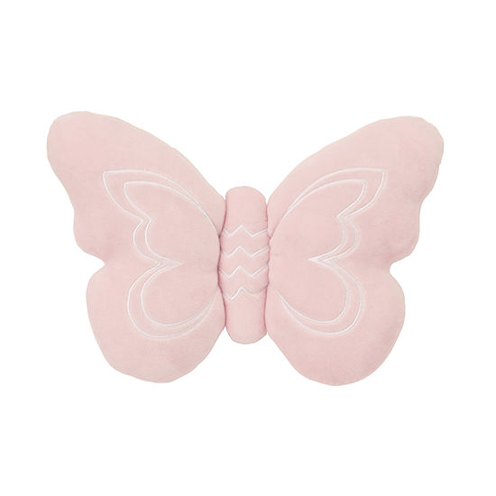 Nojo Plush Pillow - Butterfly Dream - Pink