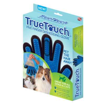 As Seen On TV True Touch Deshedding Glove Grooming Comb