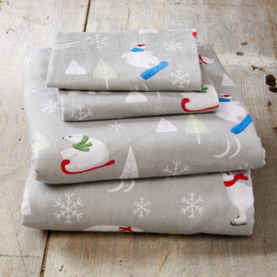 Aspen Flannel Sheet Set