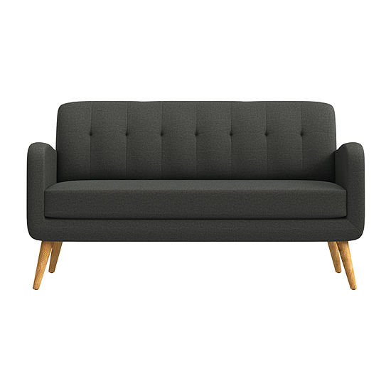 Kingston Curved Slope-Arm Sofa