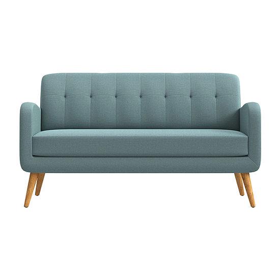 Kingston Curved Slope-Arm Sofa
