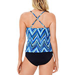 St. John's Bay Chevron Tankini Swimsuit Top or Swimsuit Bottom