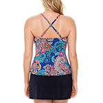 St. John's Bay Paisley Tankini Swimsuit Top or Swimsuit Bottom