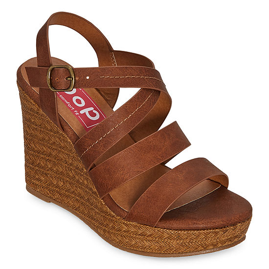 Pop Womens Kylea Wedge Sandals