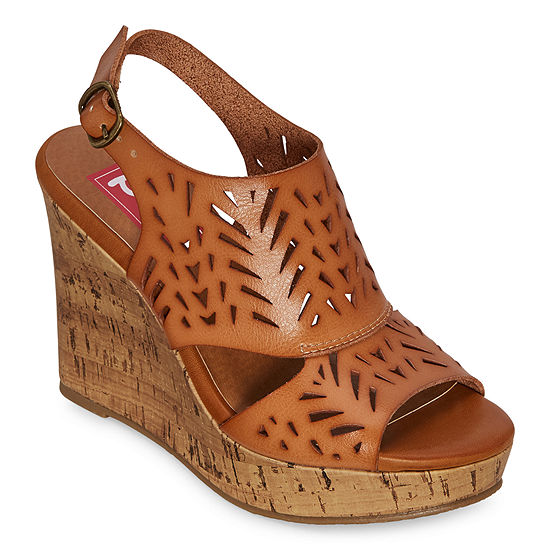 Pop Womens Madesh Wedge Sandals