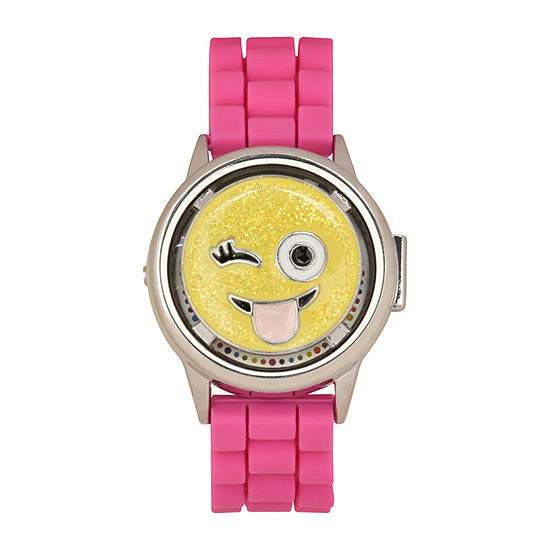 Limited Too Girls Pink Strap Watch-Lmt90086jc